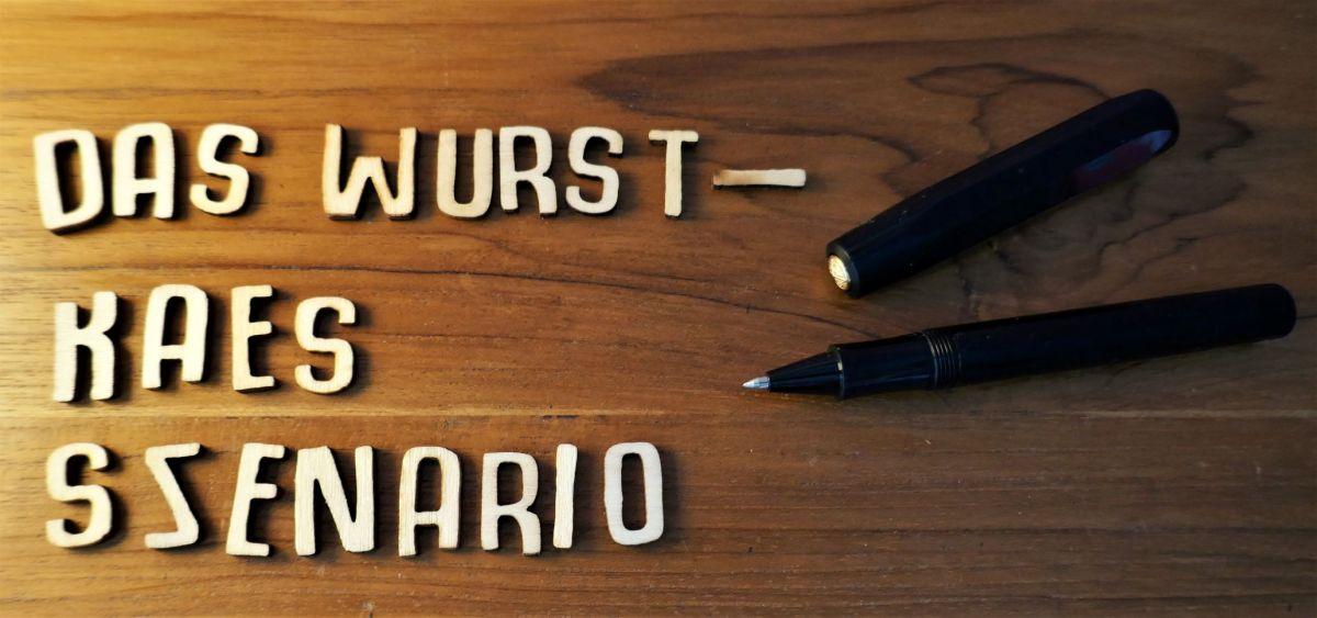 """Meine neue Kurzgeschichte: """"Das Wurst-Käs-Szenario"""""""
