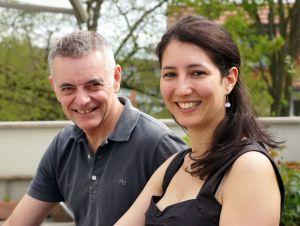 David Cordier und Dr. Tina Lauer von Staccato Kulturberatung